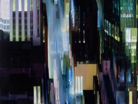 Alexandra Pacula 's Hyperrealistic Painting of Urban Nightscapes