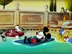 Paul Rudish's reimagined Mickey Mouse shorts