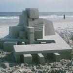 Calvin Seibert's architectural sandcastles