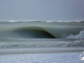 "Jonathan Nimerfroh captures icy ""Slurpee Waves"""