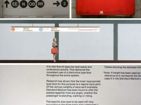 The history of the NYC subway and Helvetica