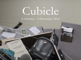 The office cubicle slowly destroying itself