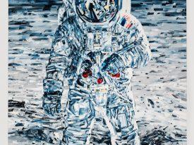 Michael Kagan's contemporary aerospace paintings
