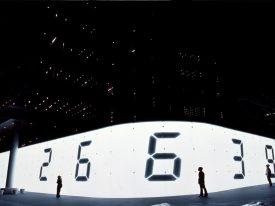 Tatsuo Miyajima's 7-segment installations